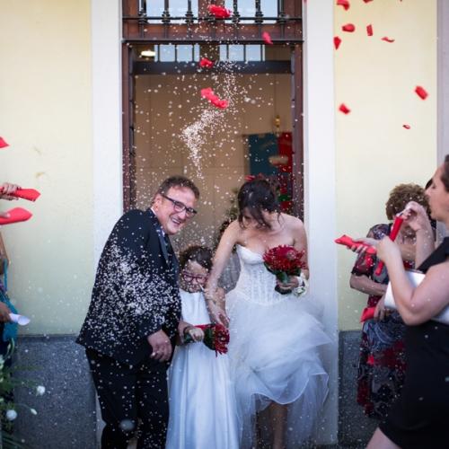 Fabiana e Giorgio matrimonio Brescia
