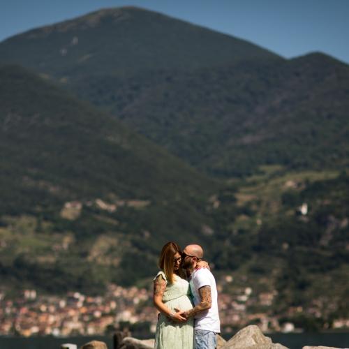 Alessia e Luca premaman Brescia
