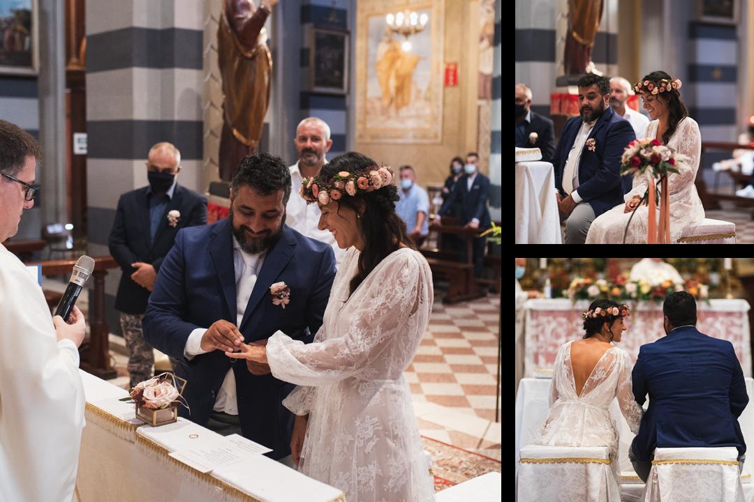 Fotografo matrimonio Brescia Federico Rongaroli wedding reportage Lucia e Roberto abito da sposa fiori matrimonio11