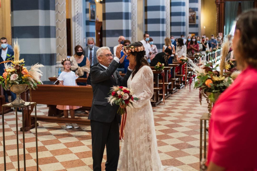 Fotografo matrimonio Brescia Federico Rongaroli wedding reportage Lucia e Roberto abito da sposa fiori matrimonio8